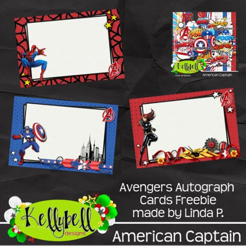Preview_Avengers Autograph Cards Freebie